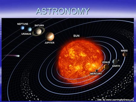 ASTRONOMY. What is astronomy?  Astronomy is the science that explores and examines all objects (among them the Earth) and the relationships and dynamics.