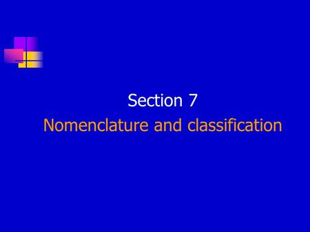 Section 7 Nomenclature and classification. All tumors (benign and malignant) have two basic components. Proliferating neoplastic cells that constitute.