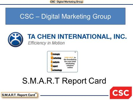 S.M.A.R.T Report Card CSC – Digital Marketing Group.