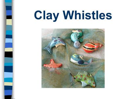 Clay Whistles. Ocarina The ocarina is an ancient flute-like wind instrument The body of the flute is an enclosed space with four to twelve finger holes.