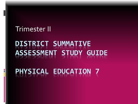 Trimester II. Repetition  The number of times you repeat an exercise.