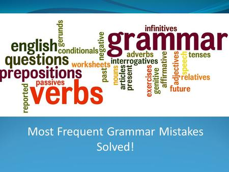 Most Frequent Grammar Mistakes Solved!. Hers Hers is the third person singular feminine possessive pronoun - it replaces her + noun. Is this his or.