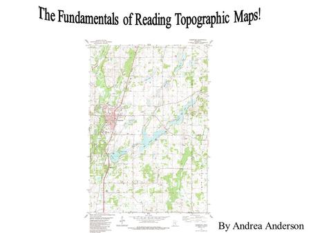 how to read a topographic map ppt download
