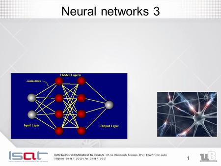 1 Neural networks 3. 2 Hopfield network (HN) model A Hopfield network is a form of recurrent artificial neural network invented by John Hopfield in 1982.
