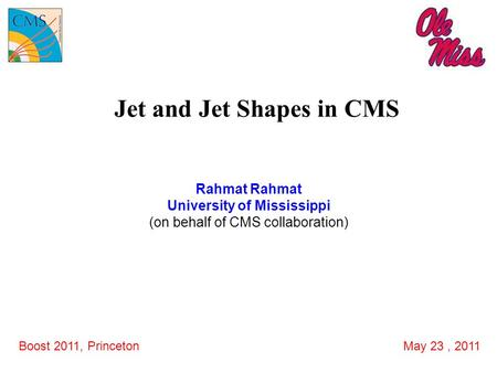 Jet and Jet Shapes in CMS