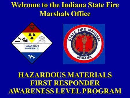 Welcome to the Indiana State Fire Marshals Office