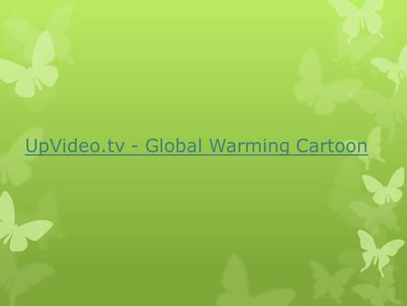 UpVideo.tv - Global Warming Cartoon. What is a carbon footprint?  It is a measurement of the emissions given off by a person and their lifestyle. 
