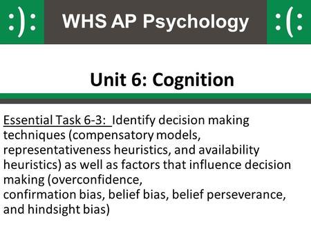 ap psychology unit 6 Contact ap psychology unit 1 unit 2.