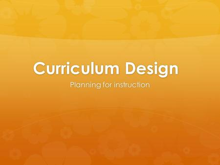 Curriculum Design Planning for instruction. Agenda  Review Bloom's  Review M.I.  Differentiation.