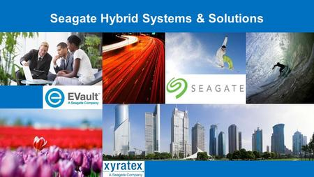 Seagate Hybrid Systems & Solutions