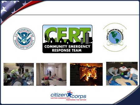 COURSE REVIEW CERT Course Review & Disaster Simulation  A Review of Key Points from the Course  A Final Exercise.