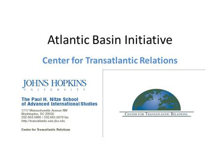 Atlantic Basin Initiative Center for Transatlantic Relations.
