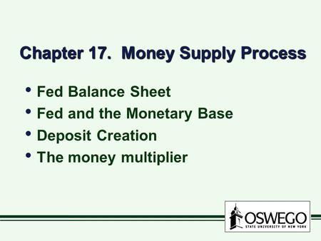 deposit creation occurs when