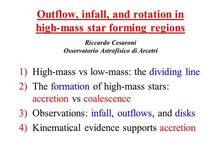 Outflow, infall, and rotation in high-mass star forming regions