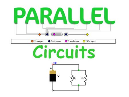 Circuits. 1.Identify a parallel circuit. 2.Determine the voltage across each parallel branch. 3.Determine the current across each parallel branch. 4.Apply.
