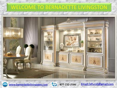 WELCOME TO BERNADETTE LIVINGSTON