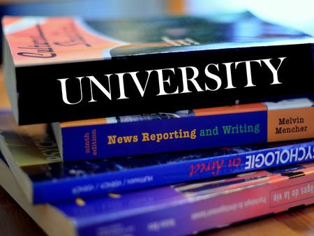 UNIVERSITY. What is University? an institution of higher education and research grants academic degrees in a variety of subjects provides both undergraduate.