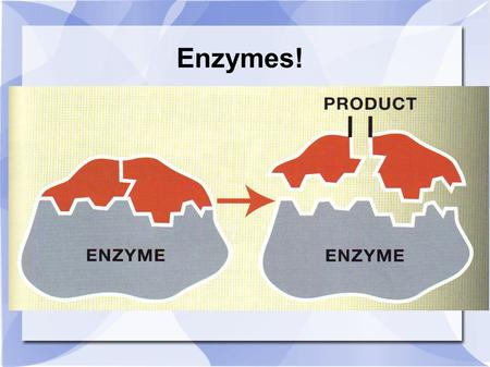 Enzymes!. Enzymes and metabolism Metabolism requires chemical reactions  Exothermic (where reactants have more stored energy than products) release energy.