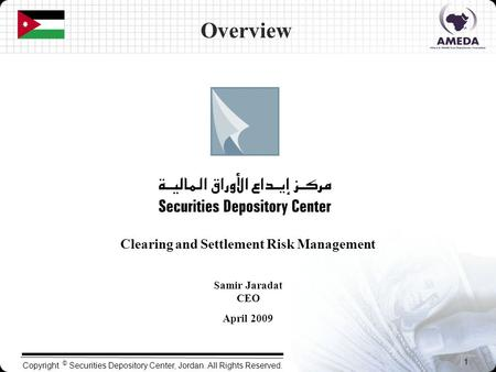 Clearing and Settlement Risk Management