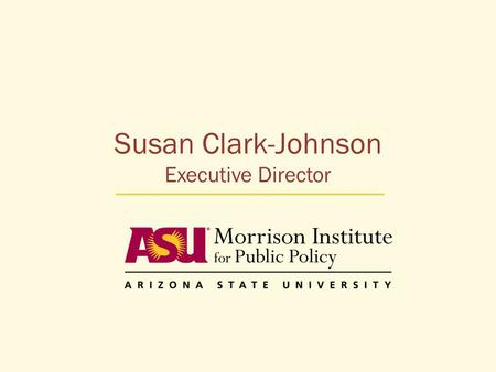 Susan Clark-Johnson Executive Director. Where we are today Unemployment has risen faster for minorities than for non-Hispanic whites, deepening pre- existing.
