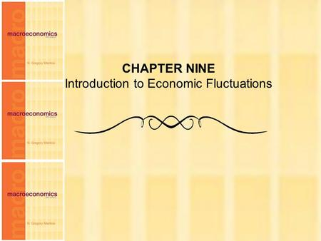 Chapter Nine 1 CHAPTER NINE Introduction to Economic Fluctuations.