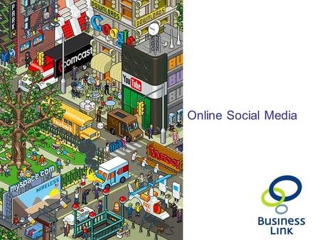 Online Social Media. This presentation introduces: Push Vs Pull marketing Using online networks to market your business Communicate your message efficiently.
