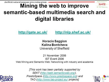 Mining the web to improve semantic-based multimedia search and digital libraries