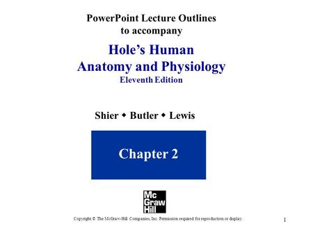 PowerPoint Lecture Outlines to accompany