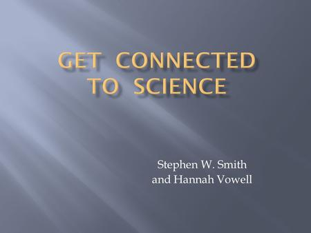 Stephen W. Smith and Hannah Vowell.  Word processing  Drills  Practice software.