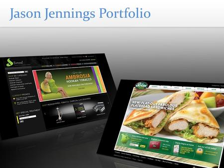 Jason Jennings Portfolio. Marie Callender's Company Websites Content Management System Marketing eCard Site Hosting Responsibilities Include: