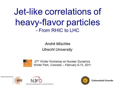 Jet-like correlations of heavy-flavor particles - From RHIC to LHC