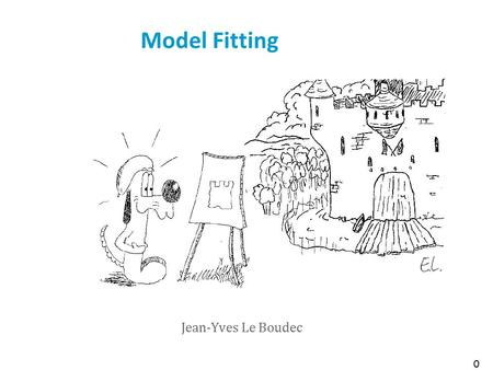 Model Fitting Jean-Yves Le Boudec 0. Contents 1 Virus Infection Data We would like to capture the growth of infected hosts (explanatory model) An exponential.