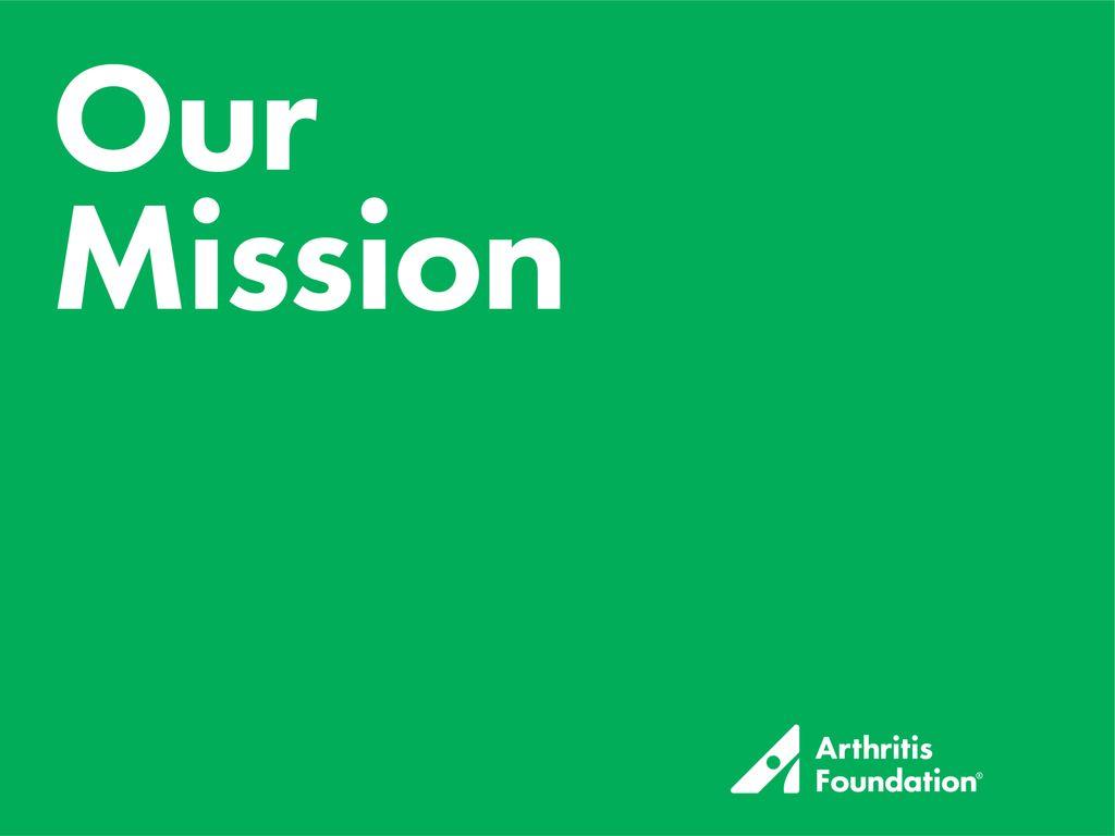 arthritis foundation mission