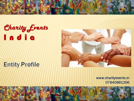 Charity Events India www.charityevents.in 07840881206.