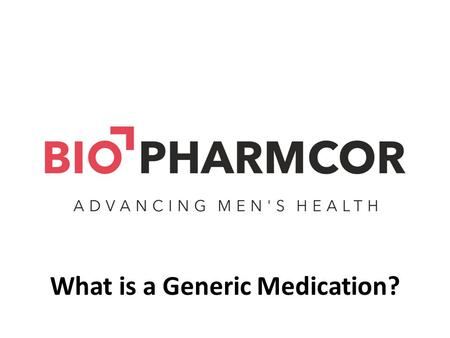 What is a Generic Medication?. The World Health Organization Definition of a Generic Medication A generic drug is a pharmaceutical product, usually intended.