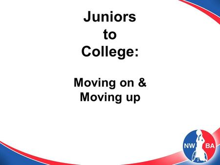 Juniors to College: Moving on & Moving up. 2 Information You Should Know 1. Recruiting Rules and Expectations 2. A Four Year Plan 3. Student-Athlete Characteristics.