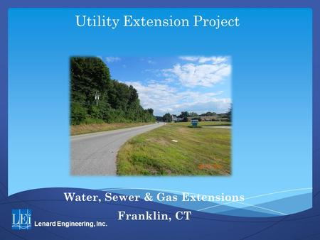 Utility Extension Project