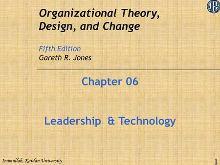 Leadership & Technology