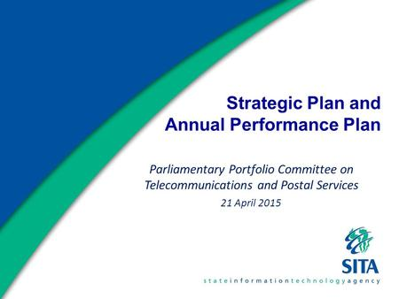 Strategic Plan and Annual Performance Plan