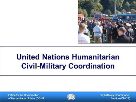 United Nations Humanitarian Civil-Military Coordination
