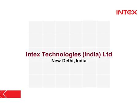 Intex Technologies (India) Ltd