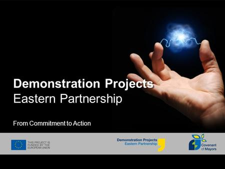 Demonstration Projects Eastern Partnership From Commitment to Action.