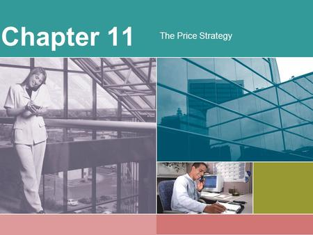 Chapter 11 The Price Strategy.