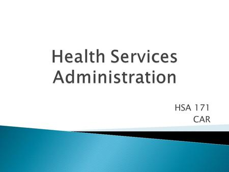 HSA 171 CAR. 1436/4/23 3 4  Planning Process.  Elements of Planning.  Steps in Operating Planning Process. 5.