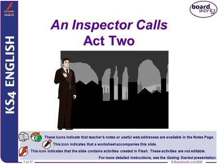 An Inspector Calls Act Two
