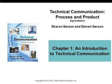 Chapter 1: An Introduction to Technical Communication