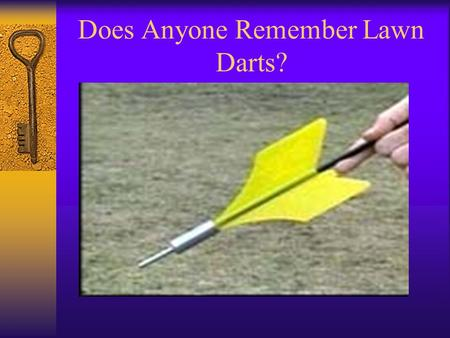 Does Anyone Remember Lawn Darts?. Yet Another Picture of Lawn Darts.