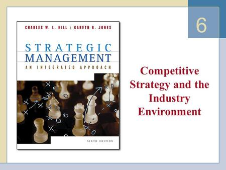 6 Competitive Strategy and the Industry Environment.