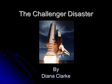 The Challenger Disaster By Diana Clarke. The Orbiter Dimensions: 122' L x 78' W x 57' H Dimensions: 122' L x 78' W x 57' H Crew size: Up to 8 people Crew.