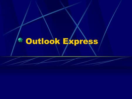 Outlook Express.